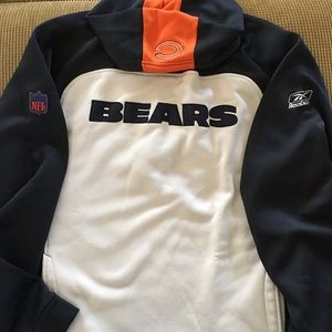 Chicago bears hoodie by Reebok size XL